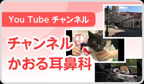 You Tube チャンネル かおる耳鼻科